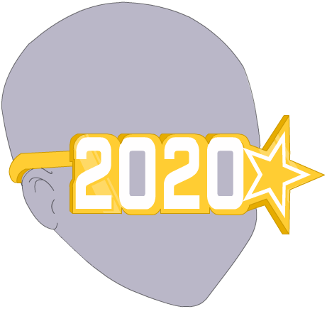 New Year's 2020 Vision Glasses - Freebie