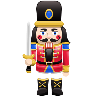 November 2018 Nutcracker Charm